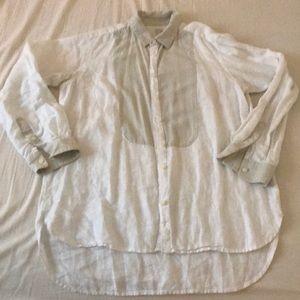 Madewell Linen and Silk Shirt